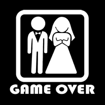 game over 2 mintájú póló